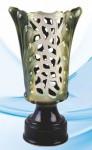 Кубок зеленый керамика